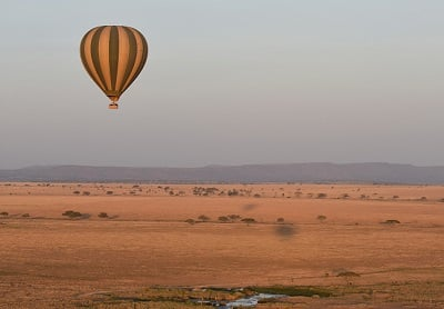 Serengeti Balloon John Harvey
