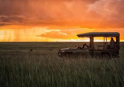 Mara Plains Sunset