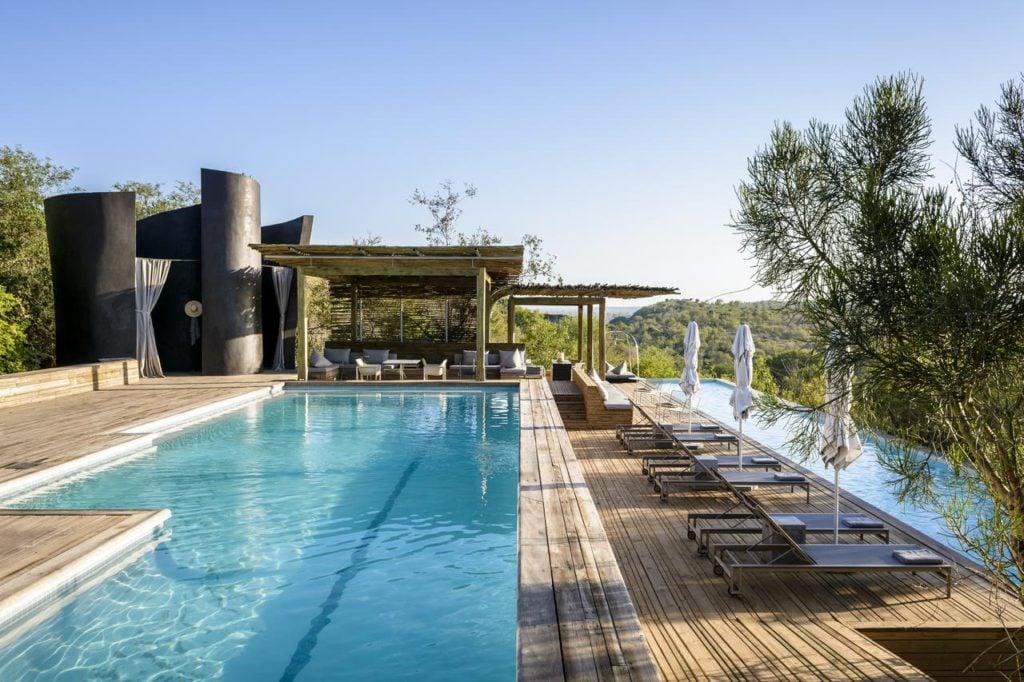 Singita Lebombo Pool Deck